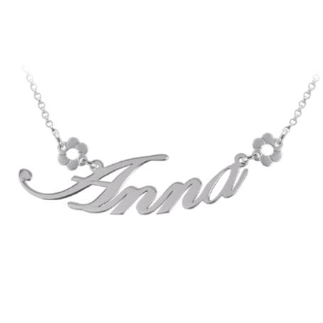 Le Scritte - Collana I Nomi, in argento o oro, personalizzabile.