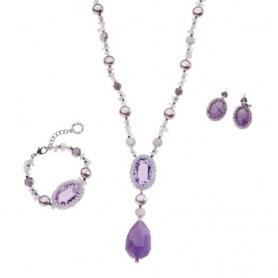 Ottaviani - Linea con cristalli, perle bijoux e strass. 500198