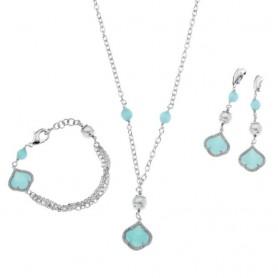 Ottaviani - Linea con cristalli, perle bijoux e strass. 500252