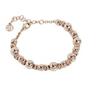 Boccadamo -  Bracciale in bronzo placcato oro rosa. XBR480RS