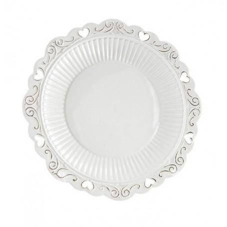 Melograno - Piatto torta porcellana grande cm 26 1117004