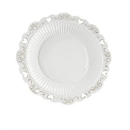 Melograno - Piatto torta porcellana piccolo cm 17. 1117006