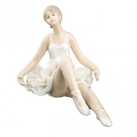 Melograno - Ballerina porcellana grande bianca. 1147057