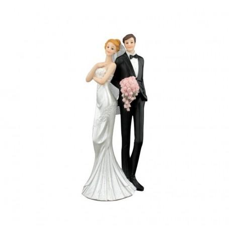 Melograno - Coppia sposi in piedi cm 25. 1039013