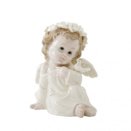 Melograno - Pearl Angelo con colomba cm 14 - 1097010