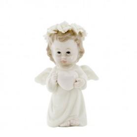 Melograno - Pearl Angelo con cuore cm 11 - 1097011