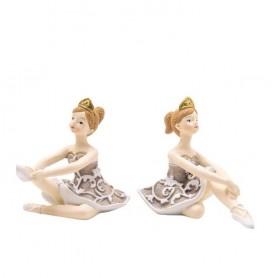 Melograno - Ballerina grande seduta 2 pz. assortiti - 1099188