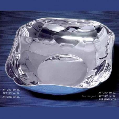 Fusco Argenti - Tosca ciotola quadra argento.