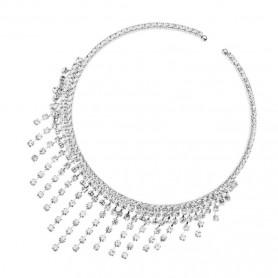 Ottaviani - Girocollo con cristalli. 500260C