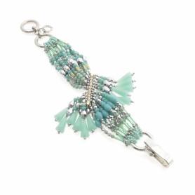 Ottaviani - Bracciale con perle, cristalli e quarzi.
