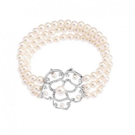 Ottaviani - Bracciale con perle di vetro. 500304B
