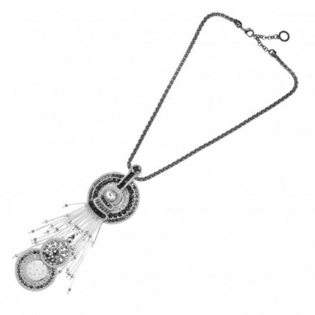 Ottaviani - Collana con cristalli e perline. 500218C