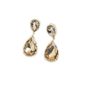 Ottaviani - Orecchini con cristalli e perline. 500233O