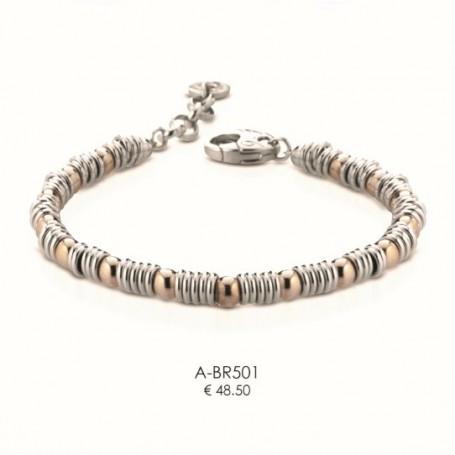Ananda925 - Bracciale argento linea Balls. A-BR501