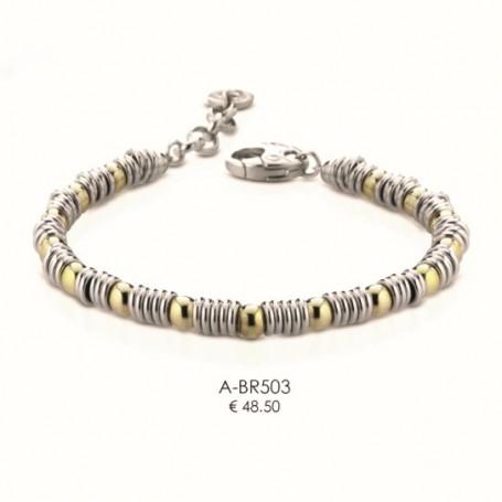 Ananda925 - Bracciale argento linea Balls. A-BR503