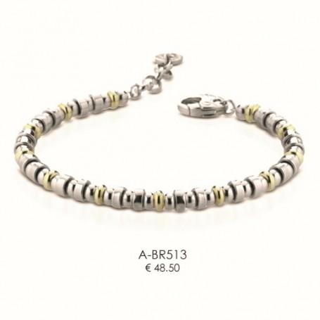 Ananda925 - Bracciale argento linea Balls. A-BR513