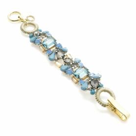 Ottaviani - Bracciale con cristalli, strass e perline.
