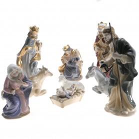 """Arteregalo - Natività in porcellana """"Navel"""" alt. 24 cm. Articolo PB0944"""
