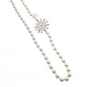 Ottaviani - Collana con perle e cristalli. 500288C