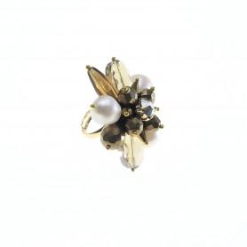 Ottaviani - Anello con cristalli, pietre e quarzi. 500432A