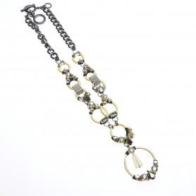 Ottaviani - Collana con cristalli e quarzi. 500436C
