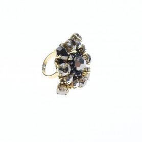 Ottaviani - Anello con cristalli e quarzi. 500436A