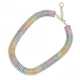 Ottaviani - Collana con cristalli Rainbow. 500507C