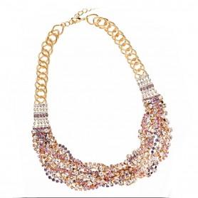 Ottaviani - Collana con cristalli e strass. 500506C