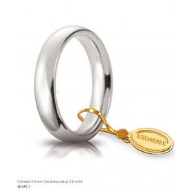 Unoaerre - Fede comoda in oro 750 mm 4 da g 5,9 a 6,9.