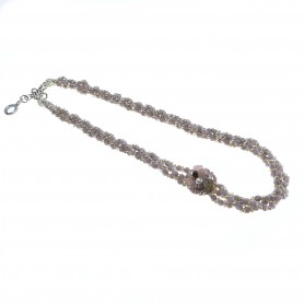 Moesi - Collana con perle e murrine. Sarzana