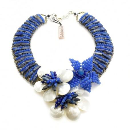 Ottaviani - Collana con madreperla e perline. 480125