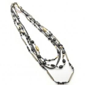 Ottaviani - Collana con perline, cristalli e quarzi. 480529