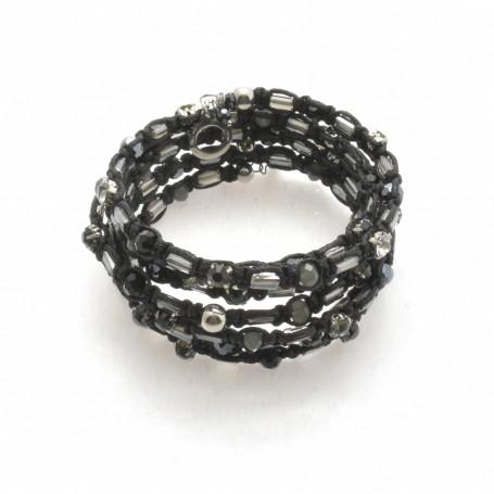 Ottaviani - Bracciale con perline, cristalli e quarzi. 470809