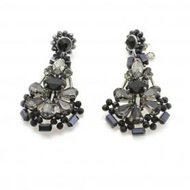 Ottaviani - Orecchini con perline, cristalli e quarzi. 470810