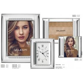 Valenti - Portafoto in argento laminato.