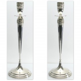 Arteregalo - Candelabro argento MCS H. 38.