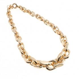 Arteregalo - Collana bronzo placcata oro rosa.