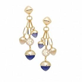 Boccadamo - Orecchini con cristalli pendenti color tanzanite e pietra di luna. XOR531DB
