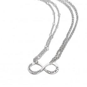 Artlinea - Due collane rodiate in argento. ZCL1356