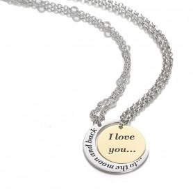 Artlinea - Collane in argento (una rodiata ed una dorata). ZCL1355