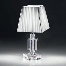 Ranoldi - Lampada cristallo cm 38x18x18. C5370