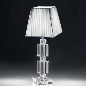 Ranoldi - Lampada cristallo cm 48x18x18. C5371