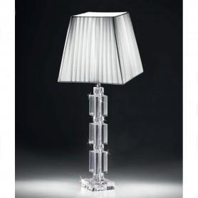 Ranoldi - Lampada cristallo cm 58x18x18. C5372