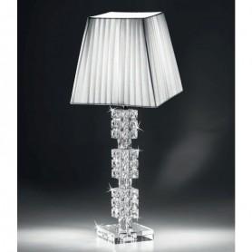 Ranoldi - Lampada cristallo cm 58x18x18. C5360