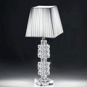 Ranoldi - Lampada cristallo cm 48x18x18. C5358