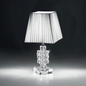 Ranoldi - Lampada cristallo cm 38x18x18. C5359