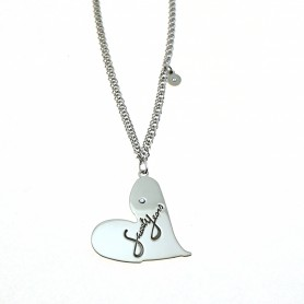 Sweet Years - Collana SY argento 925 con cuore.