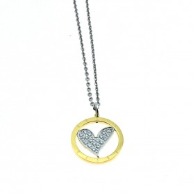Sweet Years - Collana SY donna cm 45 + 4.