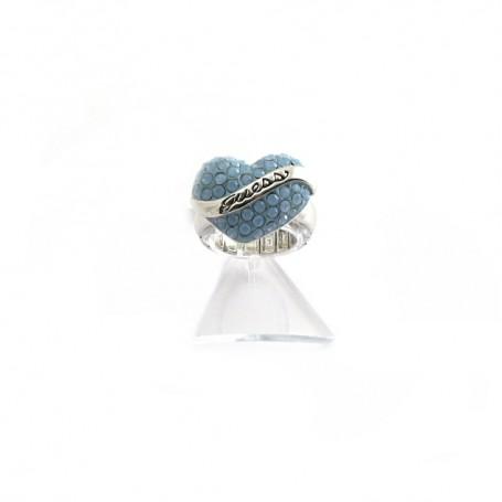 Guess - Anello donna regolabile gioielli Guess con cristalli. UBR12014