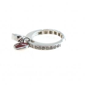 Guess - Anello donna regolabile gioielli Guess con smalto e cristalli. UBR81007